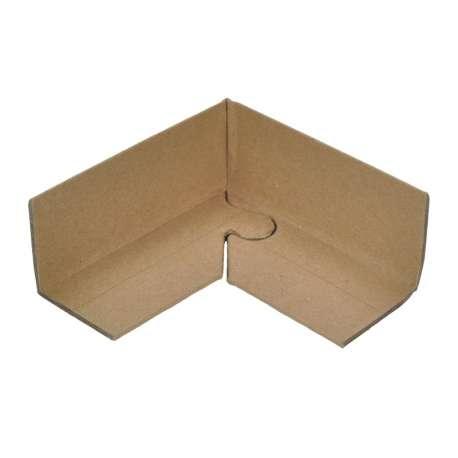 Kartonnen hoekprofielen met puzzel sluiting