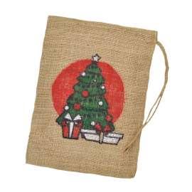 Jute zakken Kerstboom 30 x 40 cm (per stuk)