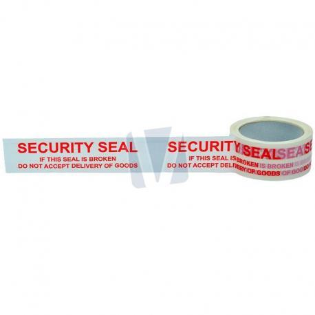Waarschuwingstape security (per rol)