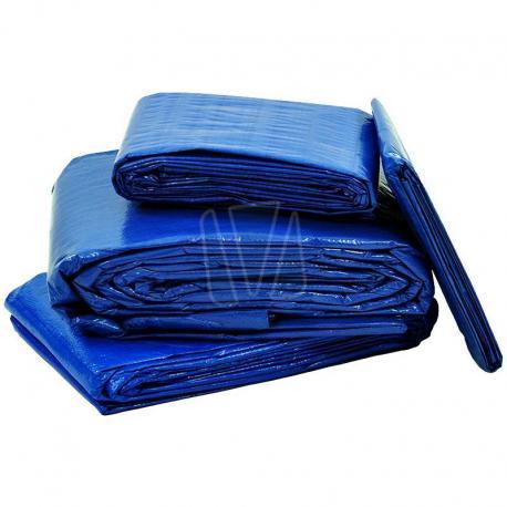 Afdekzeil blauw zwaar (250gr/m²)