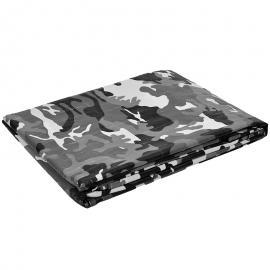 Afdekzeil camouflage grijs (125gr/m²)