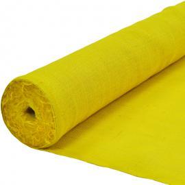 Jute op rol geel (25 m)