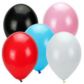Ballonnen in meerdere kleuren