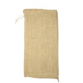 Jute zakken met sluitkoord 40 x 80 cm (per stuk)