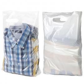 Plastic draagtassen (per doos)