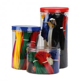 Gekleurde kabelbinders