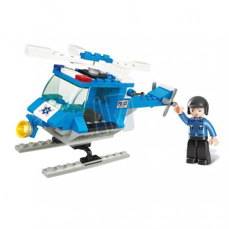 Town police helicopter