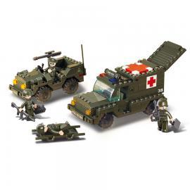 Sluban Army ambulance M38-B6000
