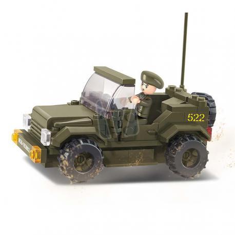 Sluban army jeep style 2