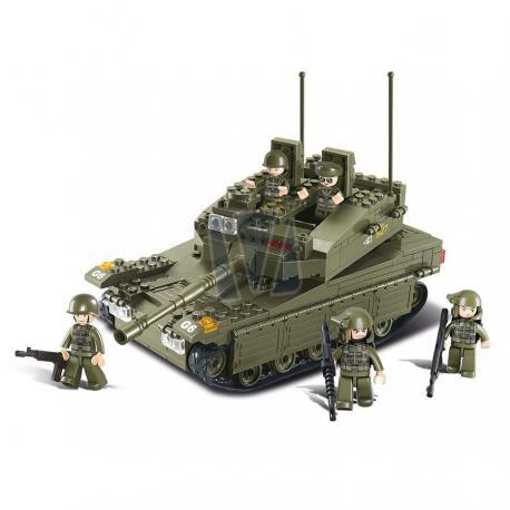 Sluban army tank style 3