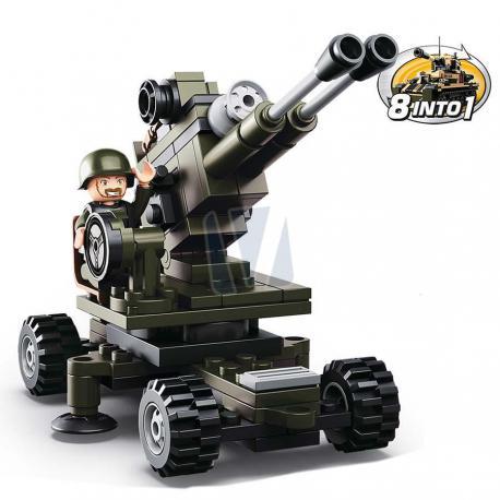 Sluban army artillery