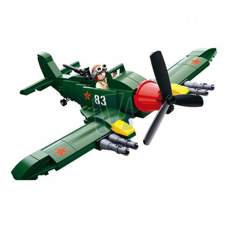 Sluban WWII allied ground-attack aircraft