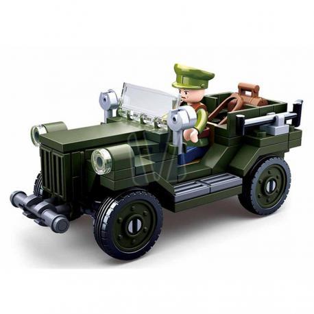 Sluban WWII allied light truck