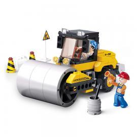 Sluban Contruction road roller M38-B0539