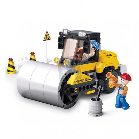 Sluban Contruction road roller