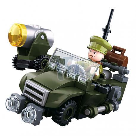 Sluban WWII 4in1 Army model B M38-B678B