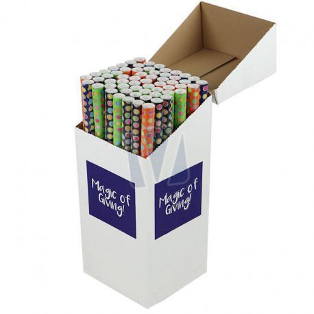 Inpakpapier Round presenteerbox