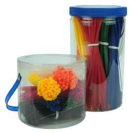 Gekleurde kabelbinders (9 kleuren)