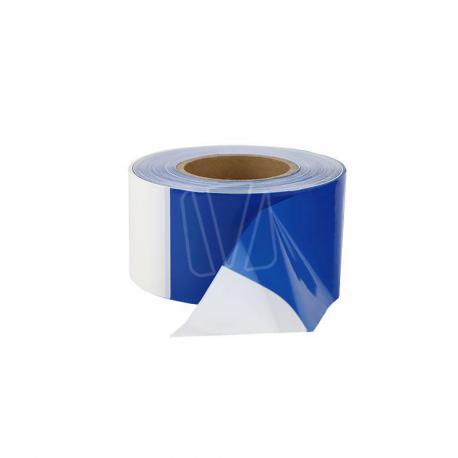 Blauw wit afzetlint