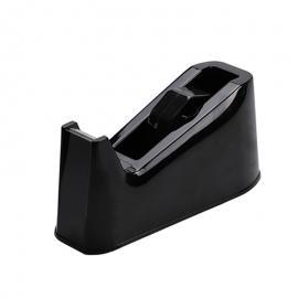 Plakbandhouder zwart (zwaar tafelmodel)