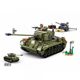 Sluban WWII Allied medium tank M38-B0860