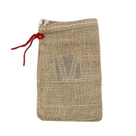 Jute zakken met rijgkoord 10 x 15 cm (per stuk)