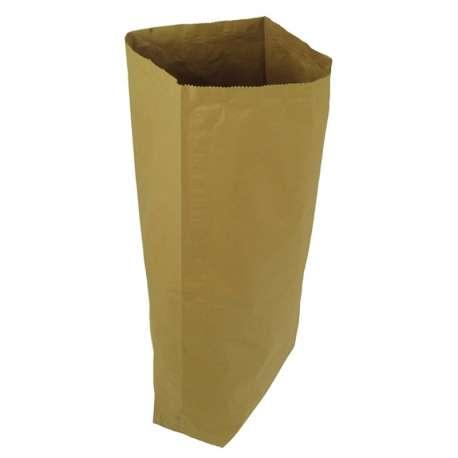 Papieren zak met coating (per 100 stuks)
