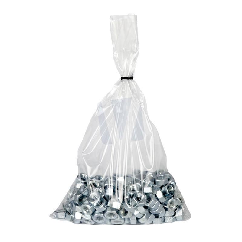 Vlakke plastic zakken tot 30 cm breed per 100 stuks for Ladenblok 30 cm breed