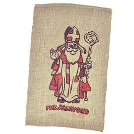 Jute zakken Sinterklaas 60 x 100 cm (per stuk)