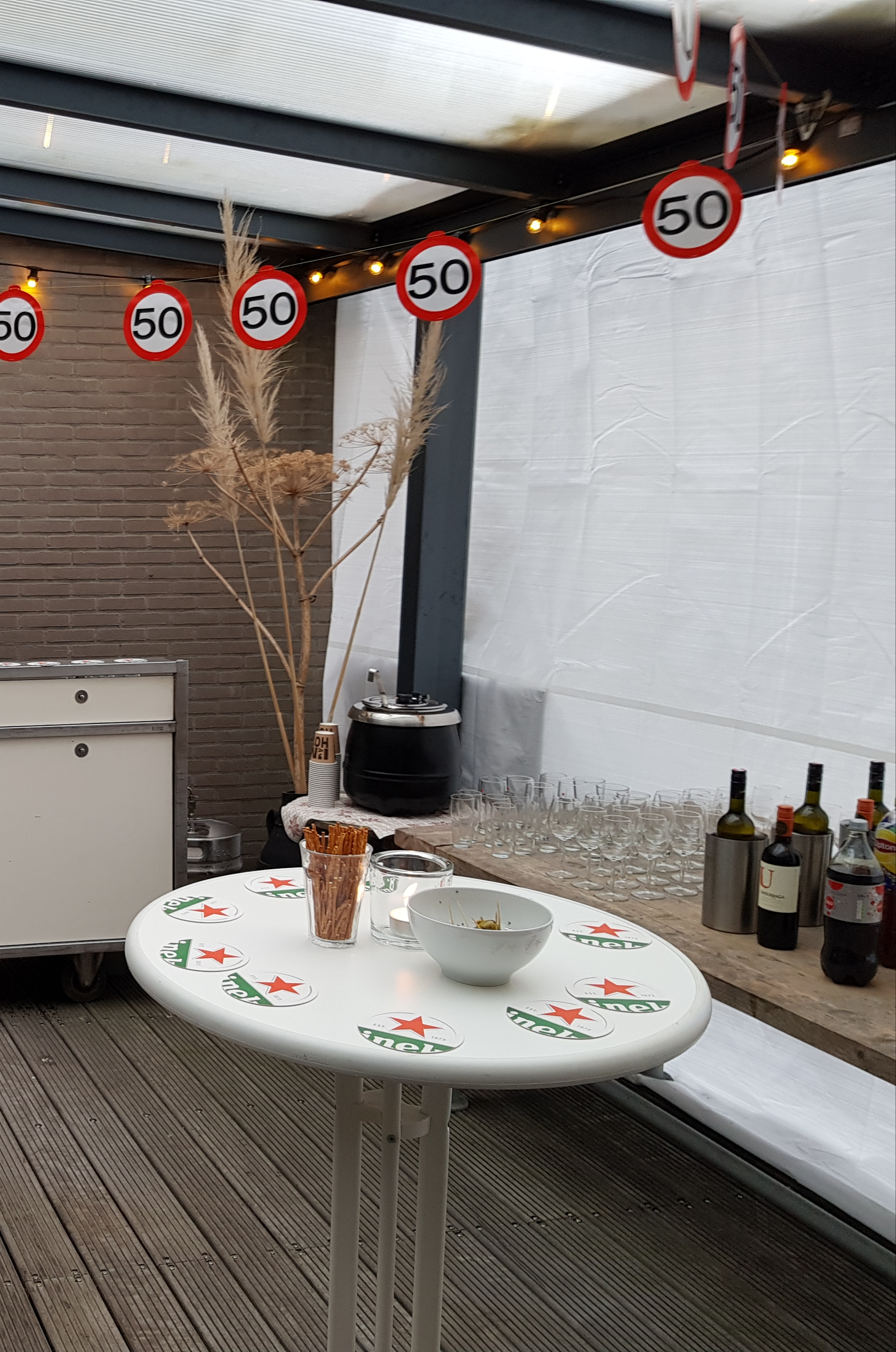Afdekzeil wit zwaar (250gr/m²) gebruik: Afdekzeil wit zwaar (250gr/m²)