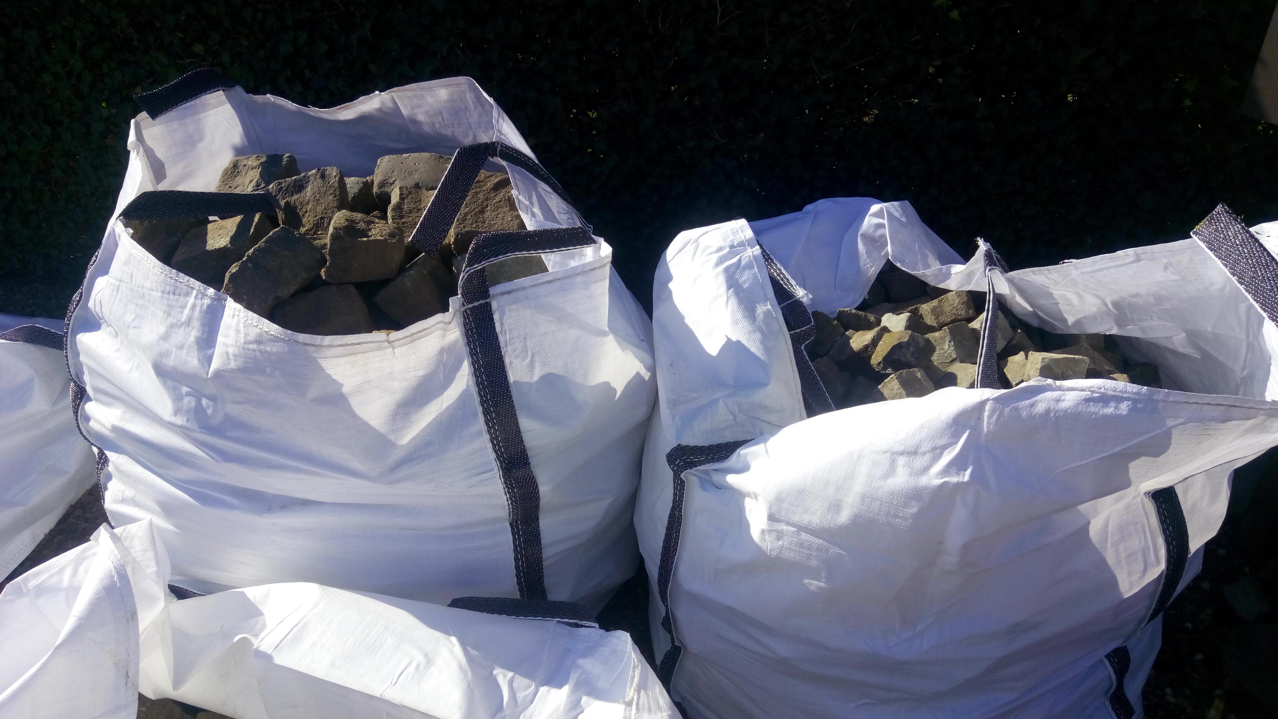 Big Bags standaard (geschikt voor 1 kuub) gebruik: Big Bags standaard (geschikt voor 1 kuub)